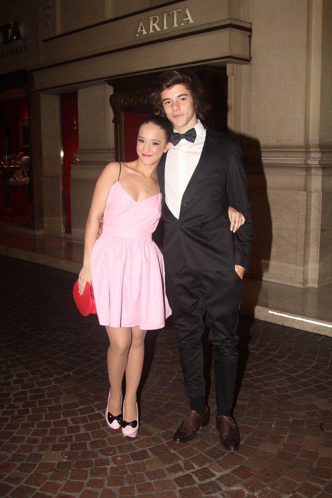 Ángela Torres y su novio, Tato