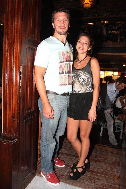 Manu Pal y su novio