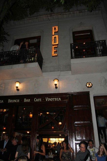 Poe, el bar de Emilia Attías y el Turco Naim