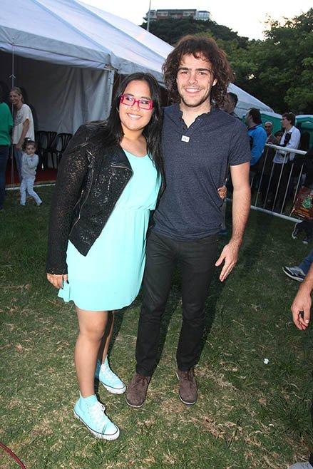 Rocío Rial y Peter Lanzani