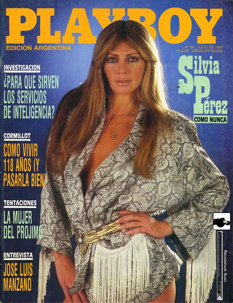 Silvia Pérez en Playboy