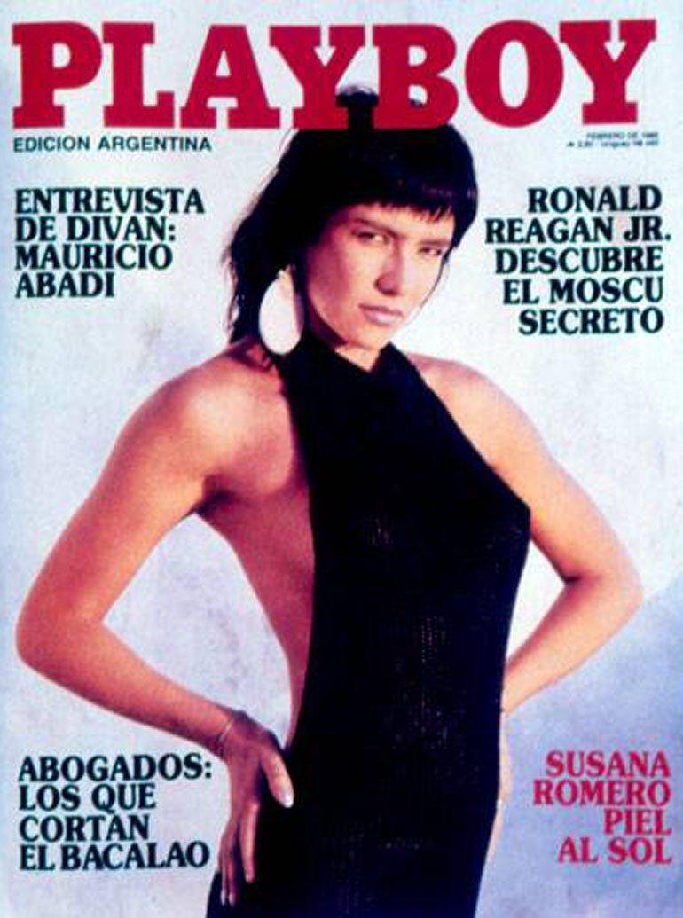 Susana Romero en Playboy