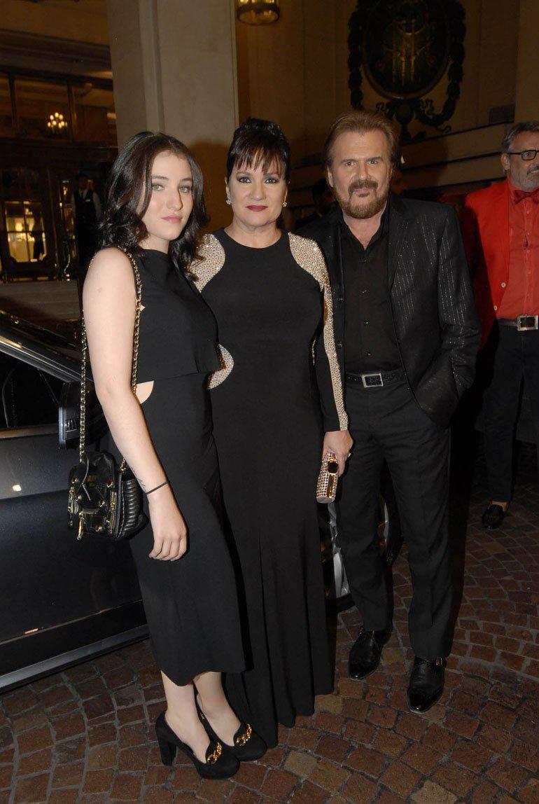 Joaquín y Lucía Galan, con su hija Rocio