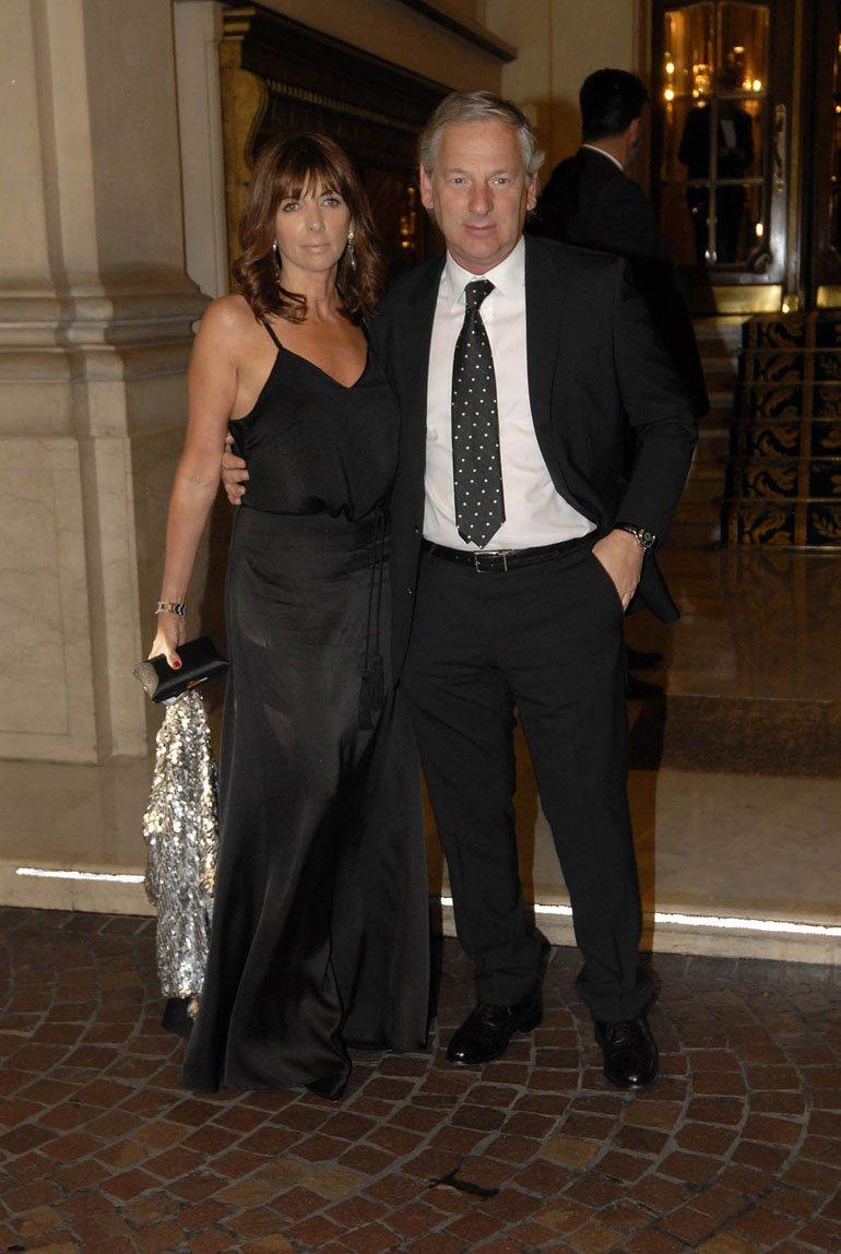 Marcelo Longobardi y su mujer