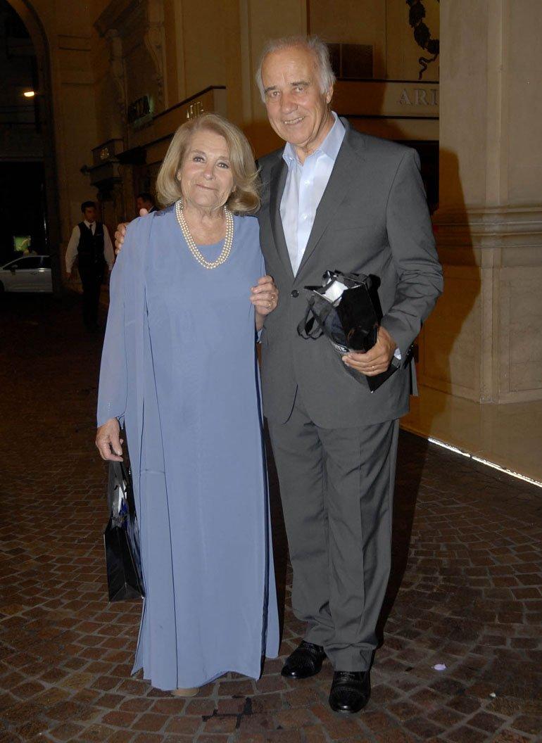 Mónica Cahen D'Anvers y César Mascetti