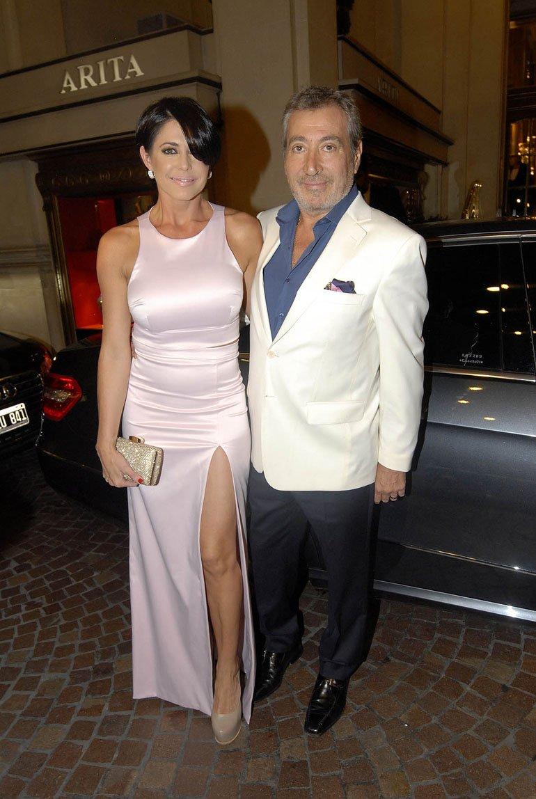 Pamela David y Daniel Vila