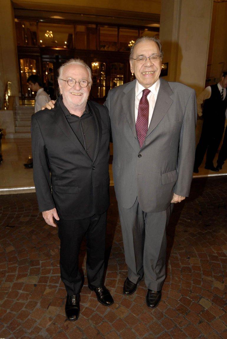 Enrique Pinti y Pepe Soriano