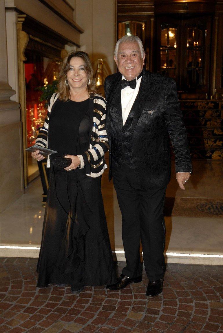 Raúl Lavie y su mujer Laura