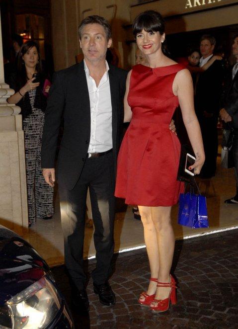 Adrián Suar y Griselda Siciliani