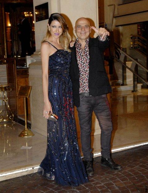 Zeta Bosio y su mujer, Estefania Iracet