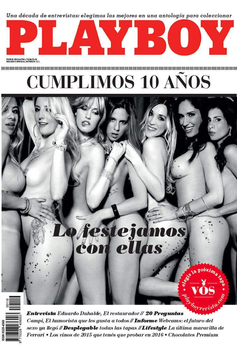 Revista Play Boy Argentina 12-15