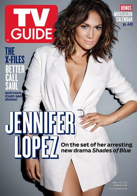 <div>Jennifer Lopez, tapa de TV Guia</div>