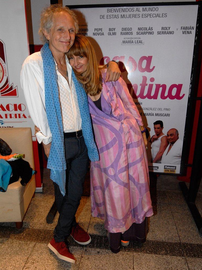 Boy Olmi y su mujer Carola Reyna