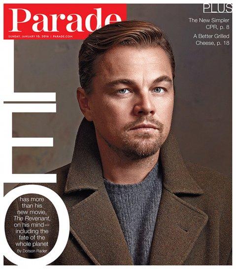 <div>Leonardo DiCaprio en Parade</div>
