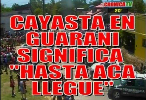 Las mejores placas de Crónica por la detención de Martín Lanatta