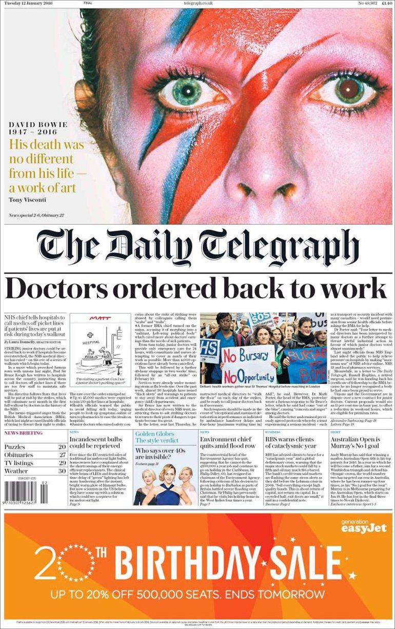 Daily Telegraph - Reino Unido