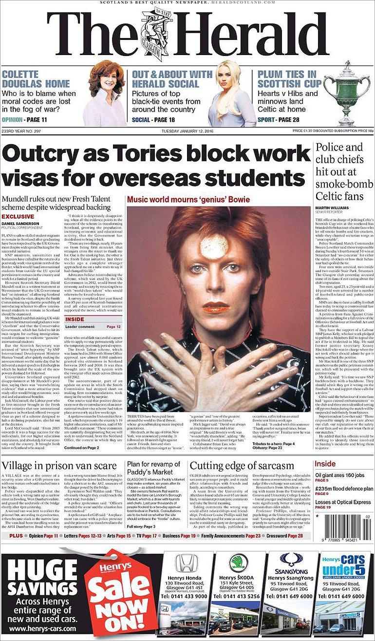 Herald - Escocia