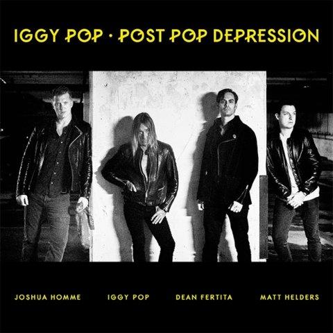 Tapa del nuevo disco de Iggy Pop