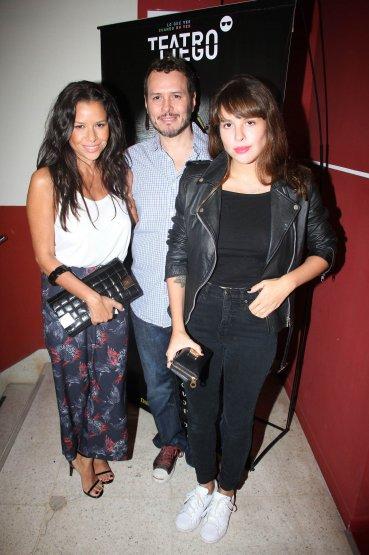 Julieta, Martin y Rosario Ortega