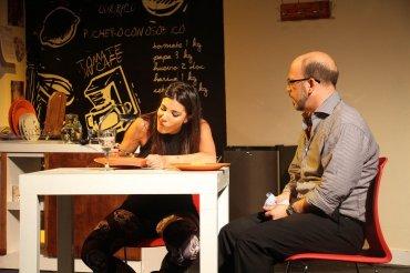 Andrea Rincón y Alejo Ortíz en Mi vida con Lucía