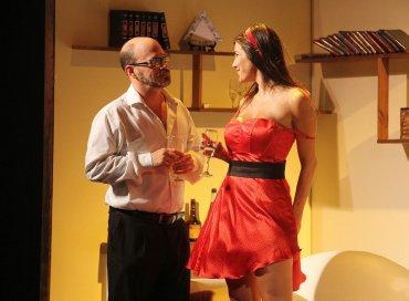 Alejo Ortíz y Andrea Rincón en Mi vida con Lucía