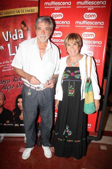 Virgina Lago y Héctor Giovine
