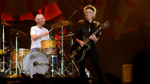 Keith Richards tuvo su momento al frente con