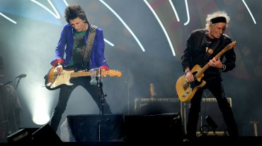 Ron Wood y Keith Richards