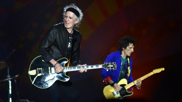 Keith Richards y Ron Wood