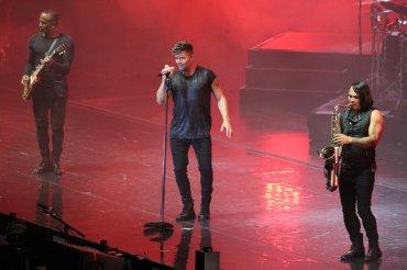 El show de Ricky Martín en Villa María