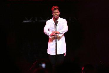 El show de Ricky Martin en Villa María