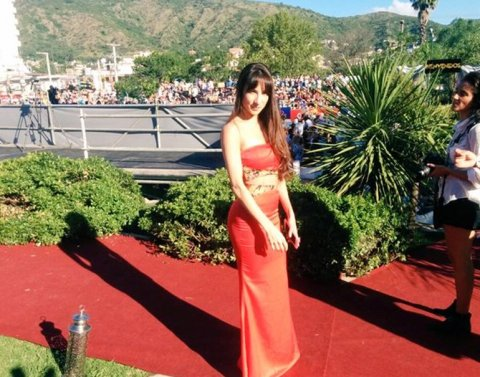 Magui Bravi en los Premios Carlos 2016