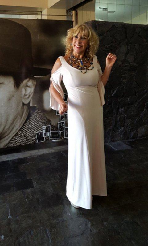 Georgina Barbarrosa en los Premios Carlos 2016