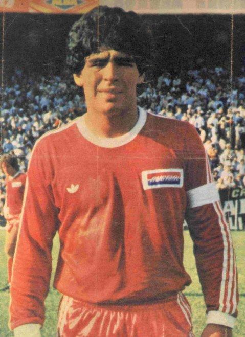 La camiseta de Argentinos Juniors que Diego Maradona usó en 1980