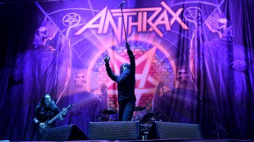 Anthrax es la banda soporte de lujo en la gira The Book Of Souls Tour.
