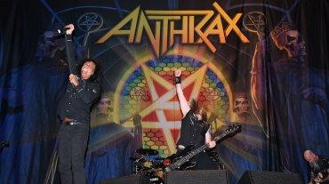 Anthrax en vivo con su histórico cantante, Joey Belladonna: energía thrash intacta