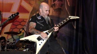 Scott Ian, líder de Anthrax, experto en machaques a alta velocidad