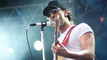 Albert Hammond en el escenario de Lollapalooza 2016