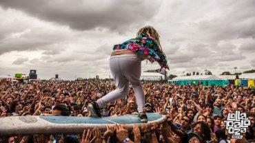 Boom Boom en el escenario alternativo de Lollapalooza