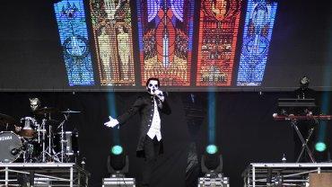 Ghost en el escenario de Lollapalooza