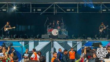 Eruca Sativa inauguró el Main Stage 1 de la segunda fecha de Lollapalooza