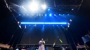 Alabama en el escenario de Lollapalloza Argentina 2016
