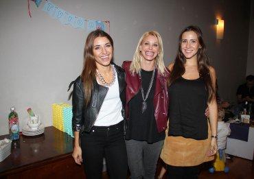 Mariana Brey, Jimena Cyrulnik y Julieta Camaño