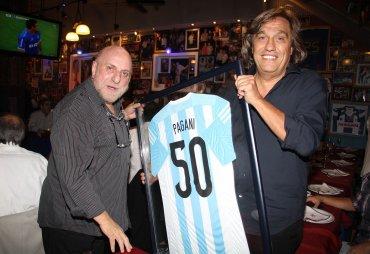 Horacio Pagani festejó sus 50 años de profesión