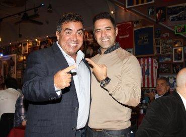 Diego Pérez y Mariano Iúdica