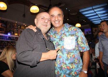 Horacio Pagani con Guillermo Miguel