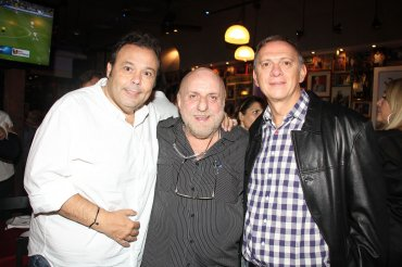 Marcelo Palacios, Horacio Pagani y Marcelo Bonelli