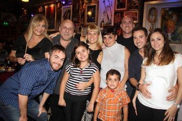 Horacio Pagani con su familia