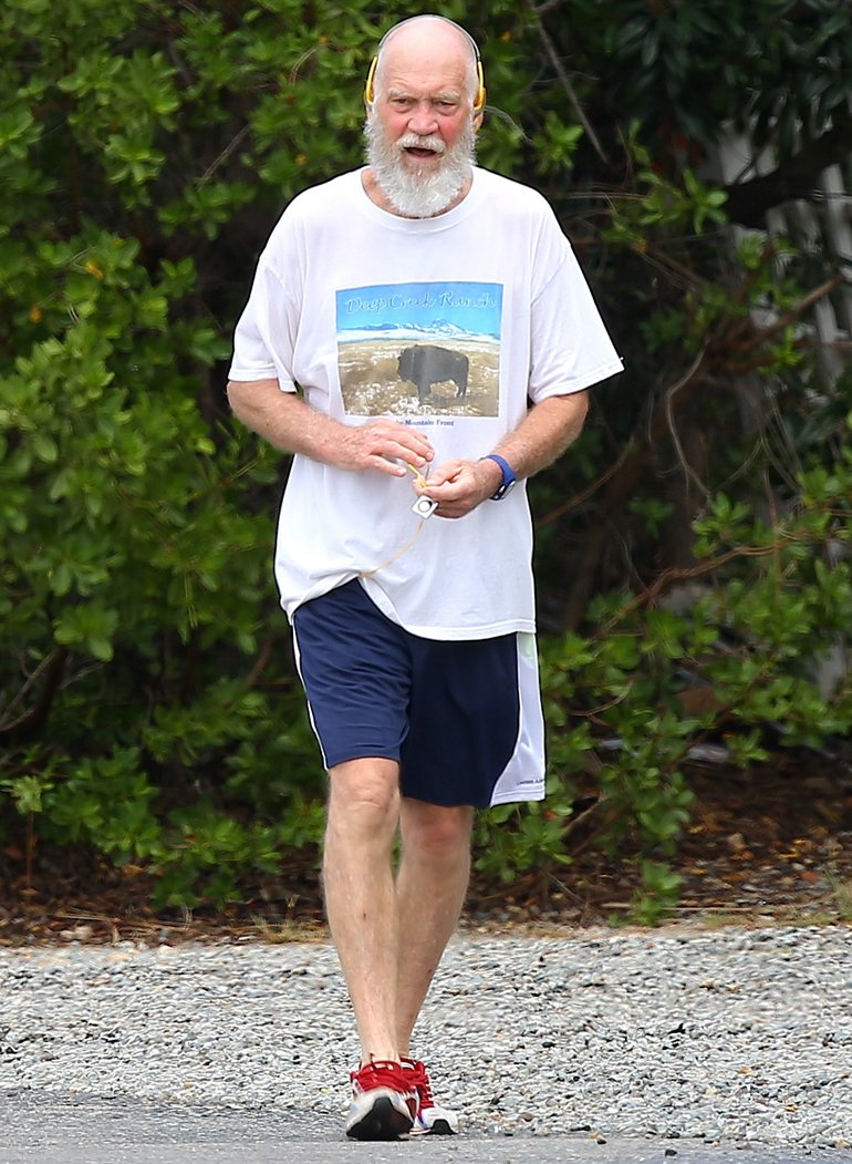 David Letterman, irreconocible