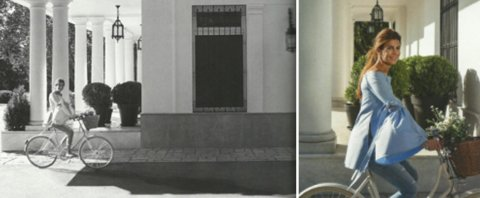 <p>En las imágenes luce varios vestidos, juega con Antonia –su hija de 4 años de edad, fruto de su relación con Mauricio Macri- y pasea en bicicleta por la quinta de Olivos</p><p></p>